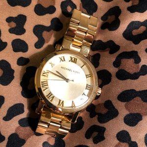 Michael Kors Women's Norie Gold Watch